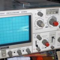 2 Kanal.Oscilloskope Kiksui Typ COS 5041 40 MHz mit Zubehör